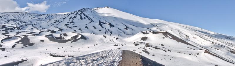 Cinder Cones at Mount Etna Linguaglossa Ski Resort
