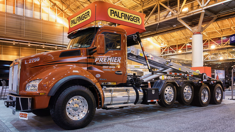 Premier Truck Sales Kenworth Palfinger Roll Off