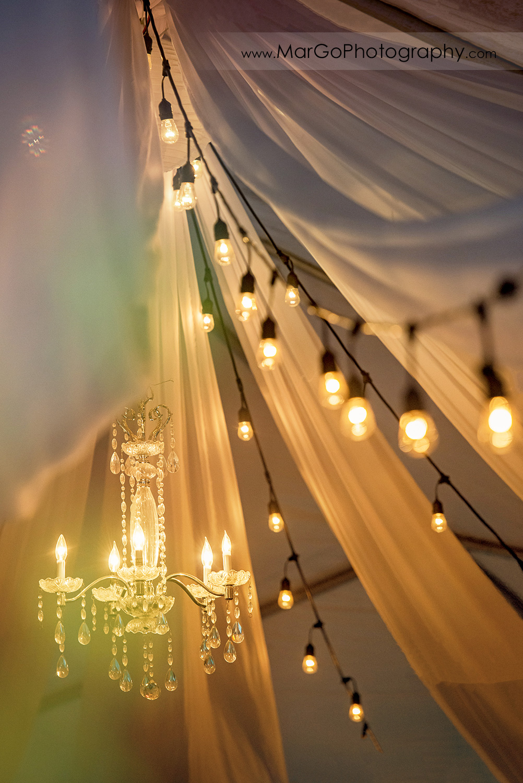 wedding reception lighting at San Diego Mission Bay Park