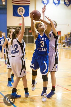 3-7-15 Section 4A Girls Basketball Quarterfinals - Christian Life Academy v Minneapolis North