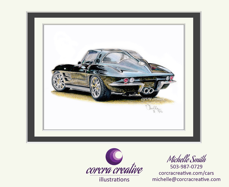 matted-1963-Split-Window-Corvette-CorcraCreative-Illustrations.jpg