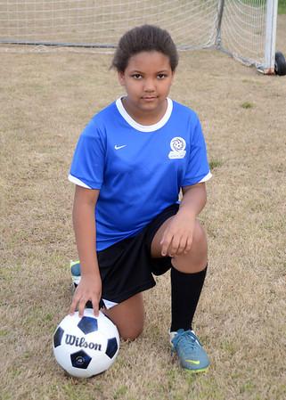 Samantha u12 Soccer Spring 2014