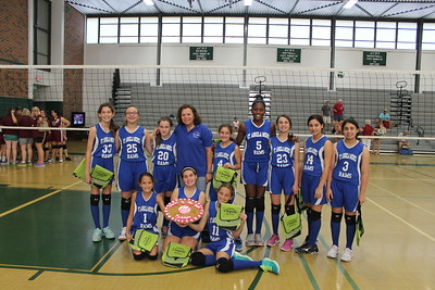 2014-09-20 Girls Senor Volleyball Tounament Champions