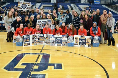 OE Varsity Girls Basketball Vs Plainfield No. (Senior Night 2019)