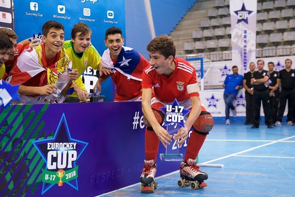 U17 Eurockey Cup 2018 Awarding Ceremony