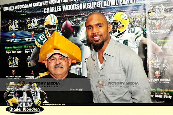 Charles Woodson Party @ CENTRAL MARKET