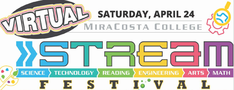 MiraCosta College Virtual STREAM Festival Packed with Workshops and Activities for Those Looking for a Day of Discovery