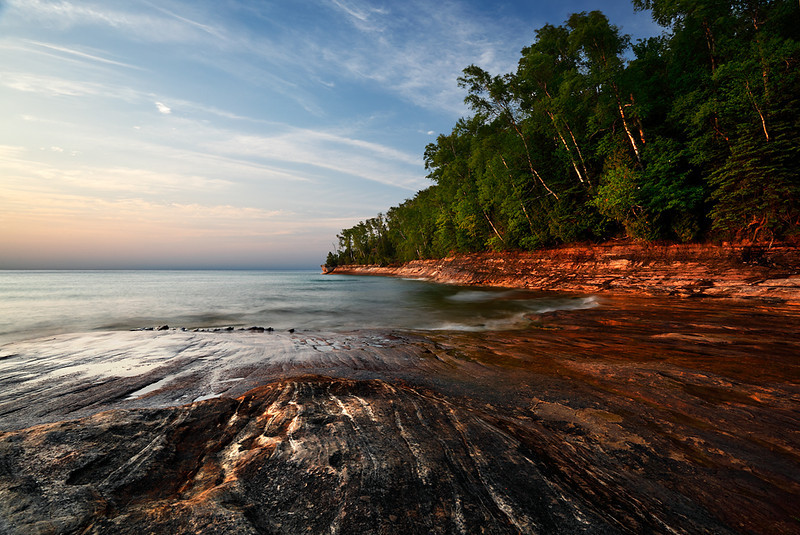Miners Beach - Pictured Rocks National Lakeshore (Upper Michigan)