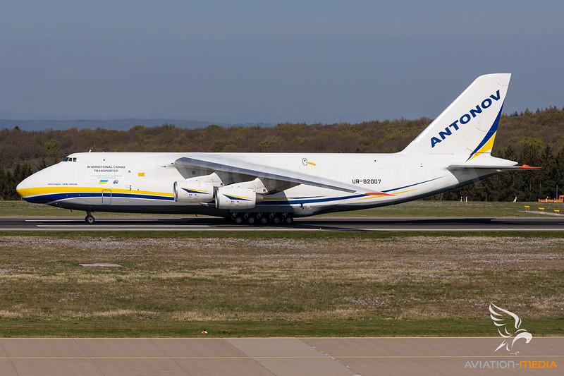Antonov Airlines / Antonov An-124-100M Ruslan / UR-82007