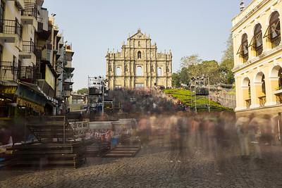 12-23 (Macau, A-Ma Temple, Senado Square, Ruins of St. Paul's
