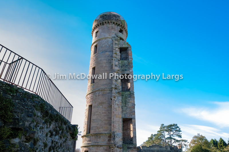 Old Castle Tower Eglinton Irvine