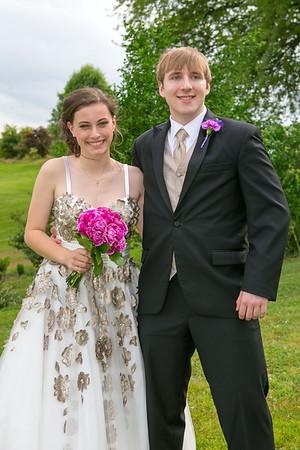 Candace and Luke Prom Pics