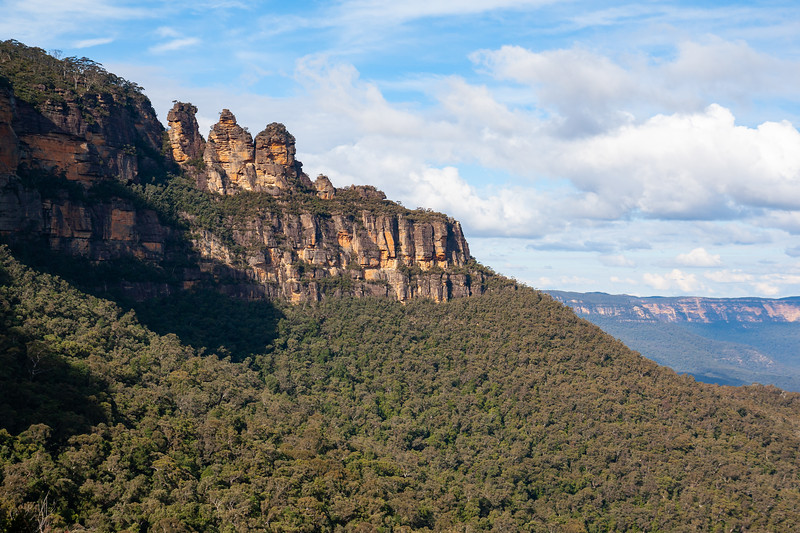 Three Sisters on the Way Out