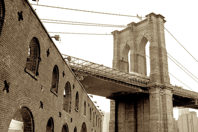 Brooklyn Bridge, Dumbo/Brooklyn, NY
