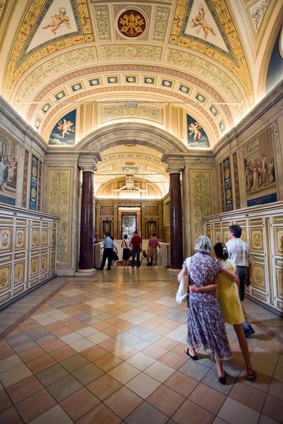 First floor galleries, Vatican Museums