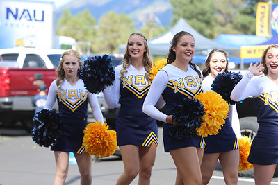 2018-19 NAU (31) vs SUU (23) - CHEER