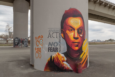 23.04.19 Граффити под мостом Миллениум (Владимир Васильев)
