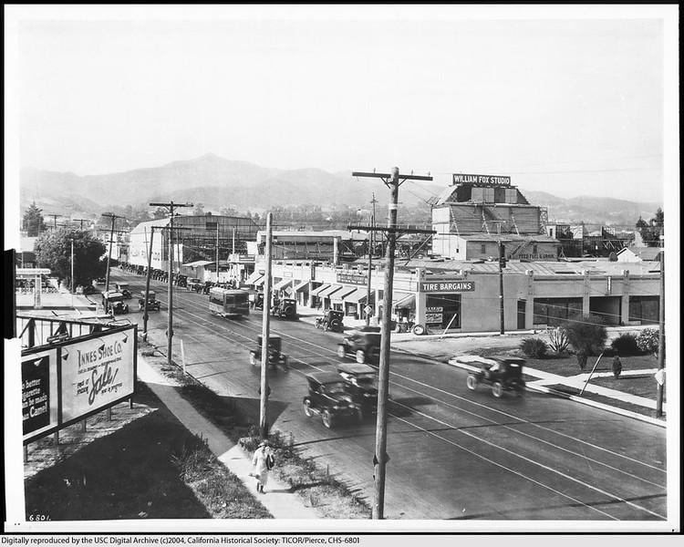 Western Avenue from Fountain Avenue