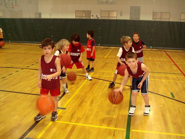 JCCA Kindergarten Basketball Winter 2008