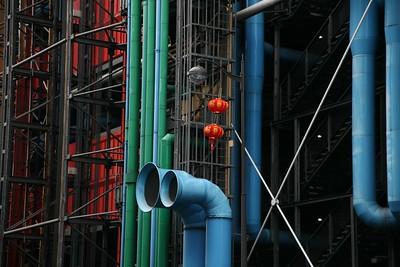 Centre Pompidou - Extérieur