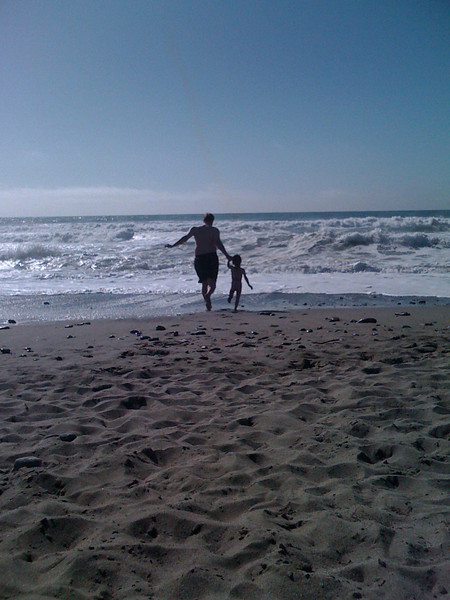 Sam and Dad at Pacifica