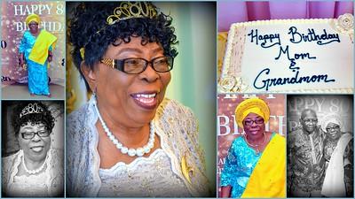 80th. Birthday Celebration - Mrs. Elizabeth Affuah Campbell