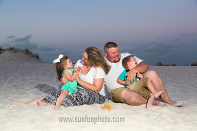 Hyman Family Panama City Beach 2015