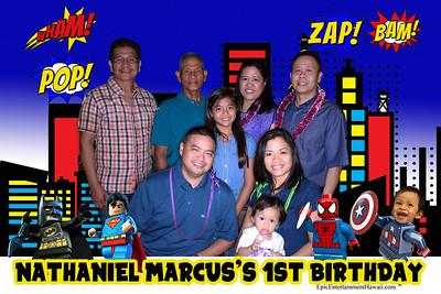 Nathaniel's 1st Birthday