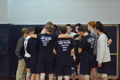 OE boys Varsity Volleyball Vs  Bolingbrook 2019