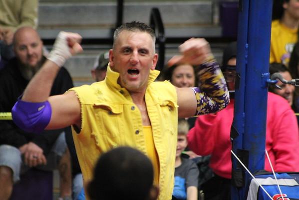 '20 Berkshire Stamp Lickage Wrestling Event