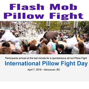 Flash Mob Pillow Fight - Video
