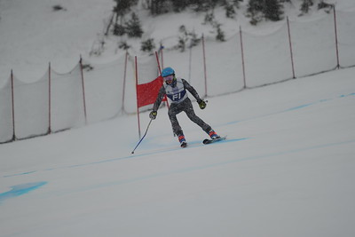 U14 Can-Am GS Girls Run 1 Tremblant