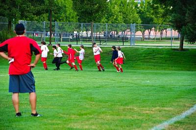 Mustang Soccer 2010 Team Revolution Game 8