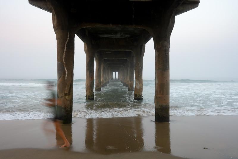 Under the Pier, 6:39 a.m., 9/9/20