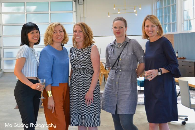 Nancy Kim, Leslie Di Corpo, Lisa Day, Ouida Biddle and Janet Hall