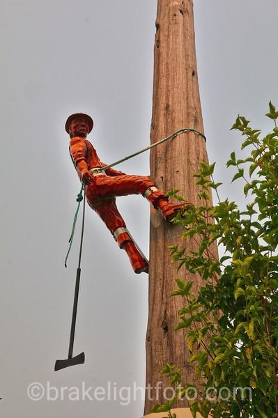 Logging Sculpture