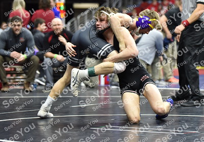 2019 State Wrestling: Class 3A Round One