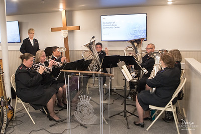 The Salvation Army Plymouth Corps Community Center Dedication & Ribbon Cutting 3/13/20