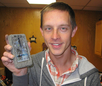My Dirt Covered Cell Phone, Andy, Tamaqua (4-26-2012)