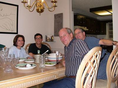 Bill & Ivonne visits