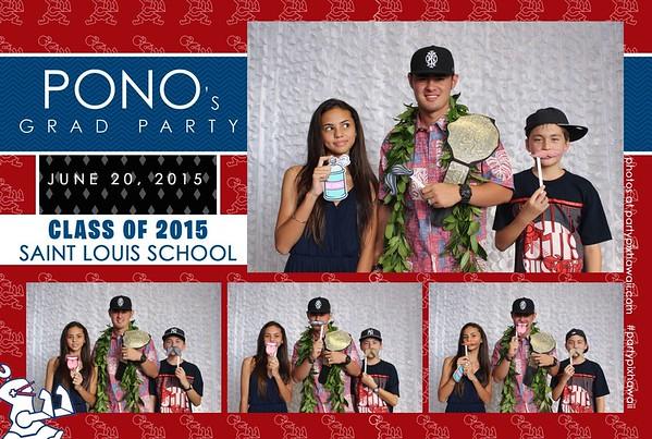 Pono's Graduation (Mini Open Air Photo Booth)