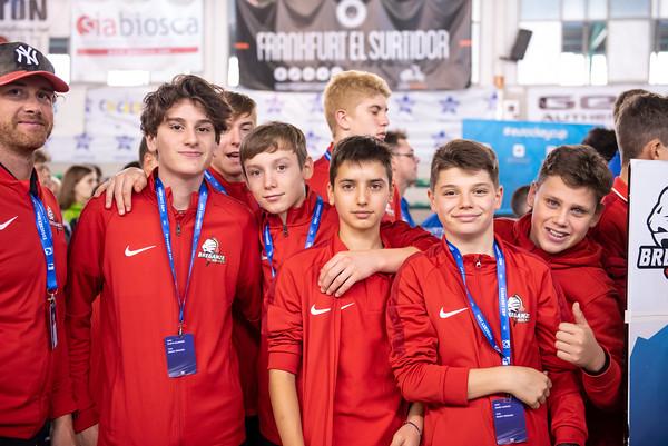 U15 Eurockey Cup 2019 Awarding Ceremony