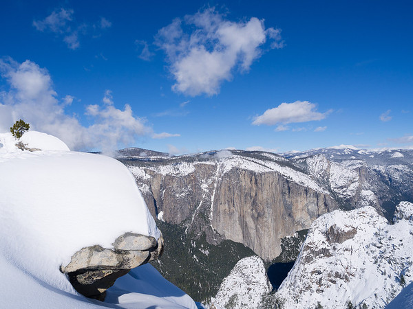 Yosemite winter visit