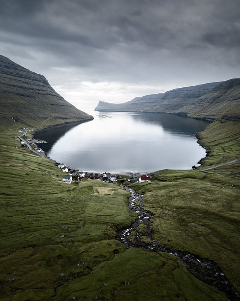 Árnafjarðar Faroe Islands Aerial Drone Landscape Photography.jpg