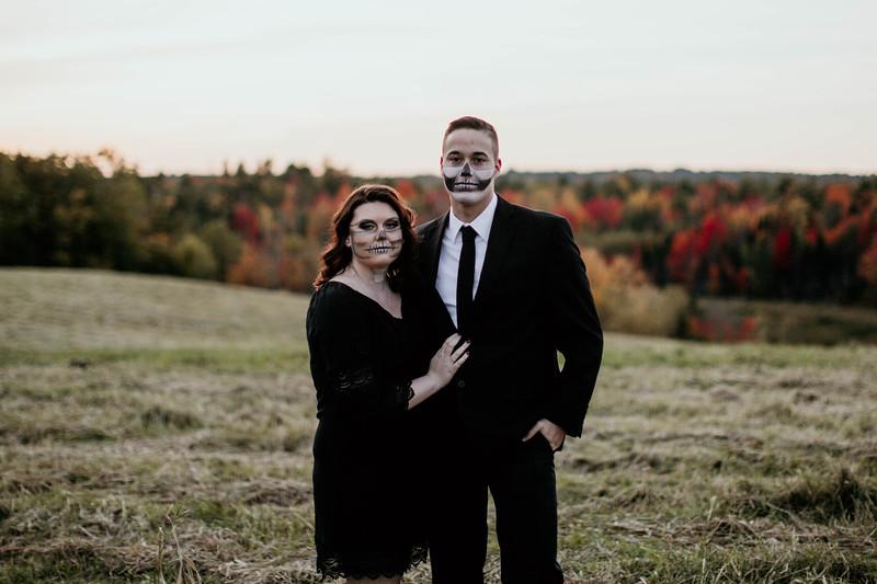 Rachael & Allen   Spooky Shoot