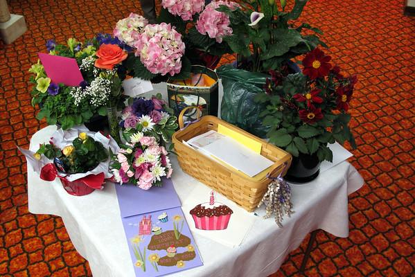 Elaine Roos' 100th Birthday, Terry, MT:  5/8/11