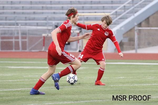 JV1 Soccer Match  -   Kennedy vs. Washington 4/26/2019