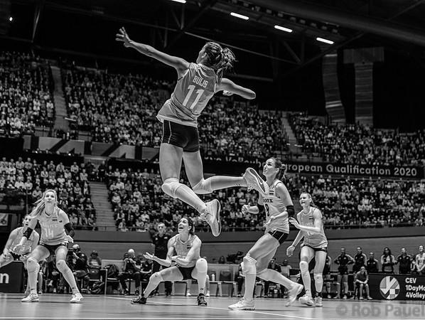 OKT Volleybal Nederland - Duitsland