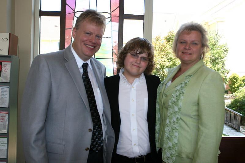 Brett and Julie Vanderwater with son Braham