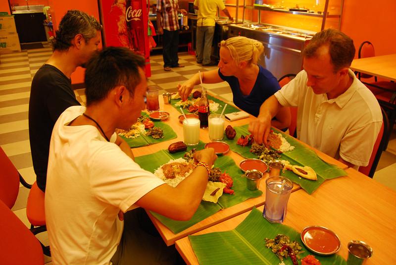 eating Banana Leaf meal in Kuala Lumpur.jpg